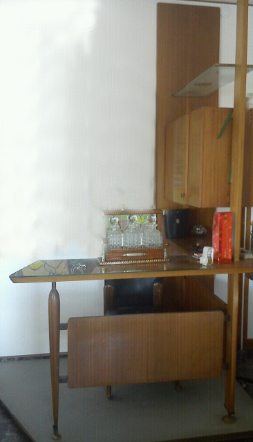 Sold mobile bar anni 50 delta bo project - Mobile bar anni 70 ...